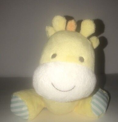 Carters Yellow GIRAFFE Child Of Mine Wind-Up Lullaby Go To Sleep Little Baby 10""