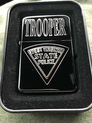 NEW Custom Engraved West Virginia State Police Trooper Lighter - Very Nice!!!