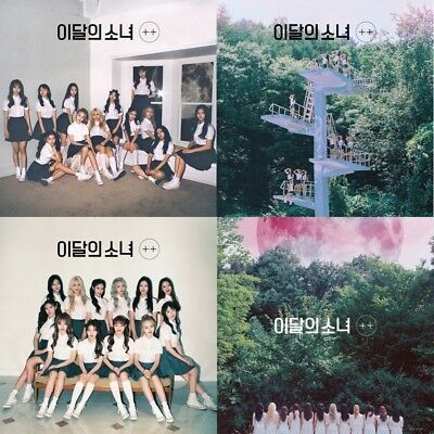 Monthly Girl Loona-[+ +]Mini Album Normal Random CD+Booklet+PhotoCard favOriTe