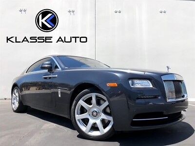 """2014 Rolls-Royce Wraith  2014 Rolls-Royce Wraith Coupe Ca Car 1 Owner NO RESERVE WOW  21"""" Wheels Must See"""
