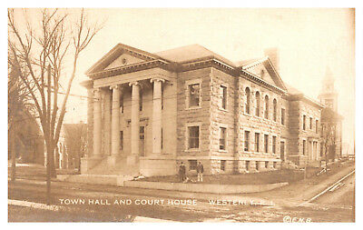 Rhode Island  Westerly , Town Hall and Court House  , RPC