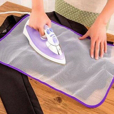 Heat Resistant Ironing Cloth Protective Insulation Pad Home Ironing Mat Mesh WL