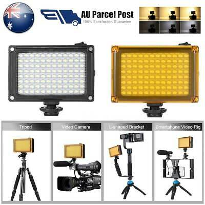 AD-96 Mini Portable On-camera LED Video Fill-in Light Panel 5500K Rechargeable