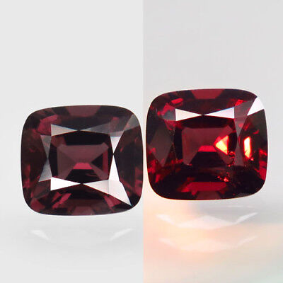 1.72ct.Fabulous Gem! 100%Natural Top Color Change Spinel Unheated AAA Rare Nr!