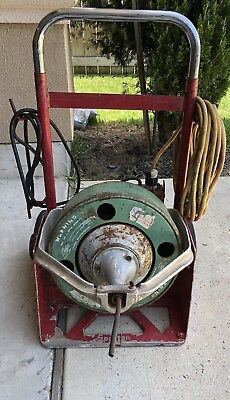 Spartan 100 Rod O Matic Drain Cleaning Sewer Machine Commercial Drain Snake