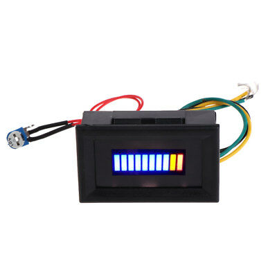 12V Unversal Motorcycle Car Oil scale meter LED Oil Fuel level Gauge Indicator