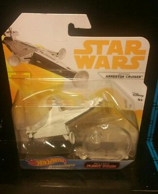 Star Wars Hot Wheels ARRESTOR CRUISER 2018