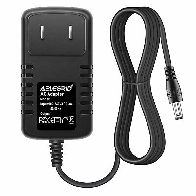 AC Adapter Power Supply for HK-H1-A12 Artistic LED Lamp Light PRO30 US Flat Plug