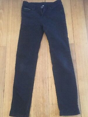 Girls Black Jeans, Size 12, V.Good Condition