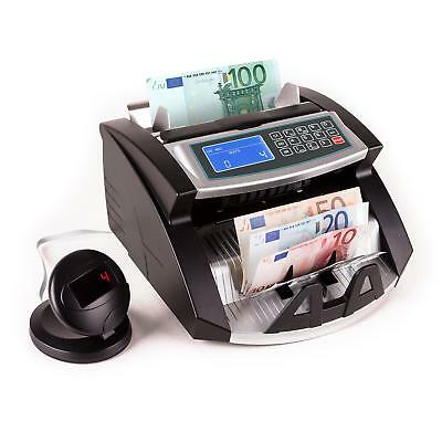 Money Counter Banknote Machine Currency Count Fake Bill Detector UV IR Black