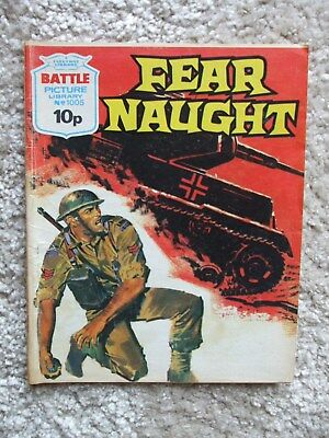 Battle Picture Library No.1005 - Fear Naught (1976)