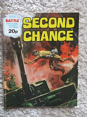 Battle Picture Library No.1443 - Second Chance (1981)