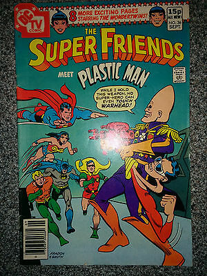 The Super Friends (DC Comics) #36 dated September 1980