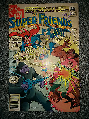 The Super Friends (DC Comics) #30 dated March 1980