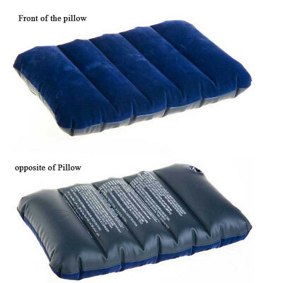 Portable Ultralight Inflatable Air Pillow Cushion Travel Hiking Camping