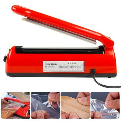 AU Auto Electric Impulse Heat Sealer 300mm Plastic Poly Bag Hand Sealing Machine