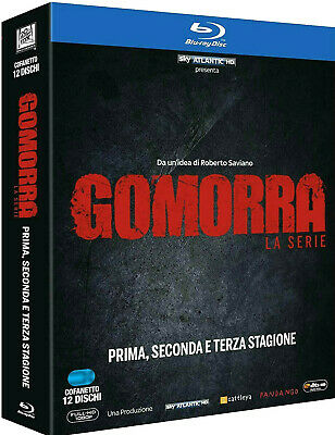 Gomorra - La Serie Completa 3 Stagioni (12 Blu-Ray) Serie Tv Cult Italiana