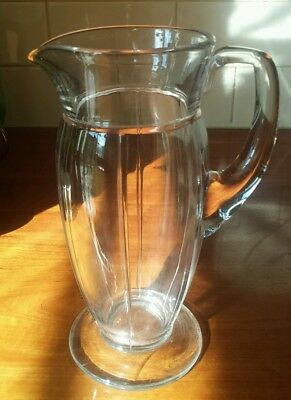 Heisey antique glass water jug