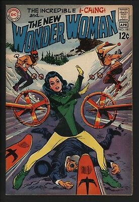 Wonder Woman 181 A Powerless Diana. Very Glossy Cents Copy Vs Dr Cyber