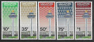 SINGAPORE A mm set of (5) commemorative stamps 1981
