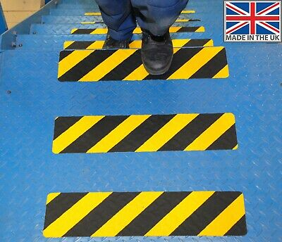 Conformable High Grip Safety Anti Slip Stair Tread Adhesive backed 150mm x 610mm