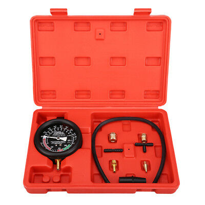 Fuel Pump Vacuum Testing Accurate Carburetor Valve Gauge Engine Pressure Tester