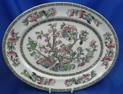 "A Johnson Brothers 'indian Tree' 11½"" Oval Steak Plate/platter"