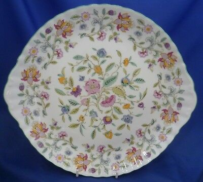 "A Minton 'haddon Hall' Large 12¼"" Large Eared Cake/sandwich Plate"