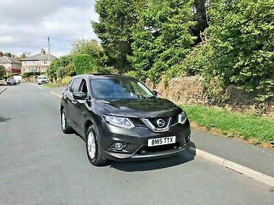 2015 Nissan X Trail 1.6 Dci ///pan Roof////360 Cameras///sat Nav///low Mileage