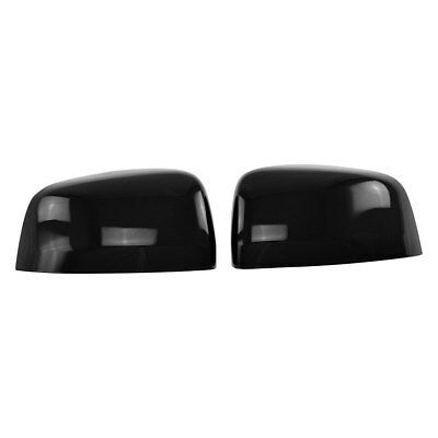 For Chevy Malibu 2016-2019 SES Trims MC6249BLK Gloss Black Mirror Covers