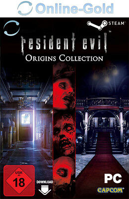 Resident Evil Origins Collection Key - Steam PC Digital Code Biohazard [EU/DE]