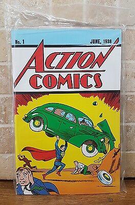 Action Comics #1 Superman DC Comic Loot Crate Lootcrate Exclusive Reprint Sealed
