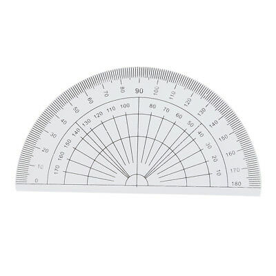 Students Maths Geometry Stationery Ruler Set Squares Protractor N8Q8