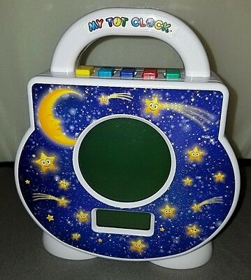 MY TOT CLOCK All-In-One Toddler Sleep Alarm Activity Timeout -Child's Learning