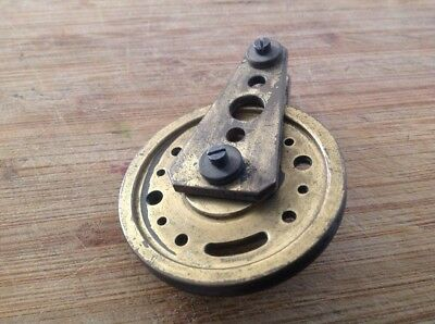Clock Wheel Pulley From Clockmakers Spare Parts 54mm Diameter For Gut To 3mm App