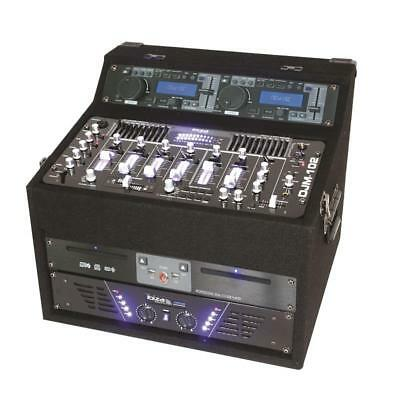 Profi Pa Dj Studio Rack Sound Anlage Verstärker Usb Sd Cd Mp3 Player Mixer