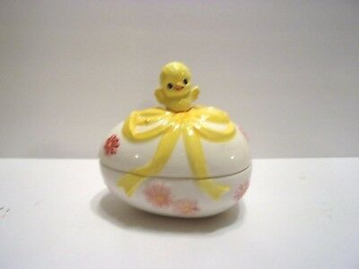 "Vintage Collectible ""lefton"" Easter Candy Dish Trinket Caddy"