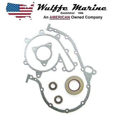 Water Pump Timing Cover Seal Kit for Mercruiser 165 170 190 470 488 3.7L 3.7LX