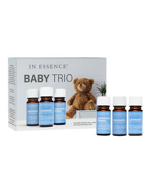 NEW In Essence Baby Oil Trio Pack Baby Blue