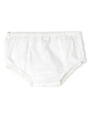 NEW Sprout Girls Frill Bloomer White