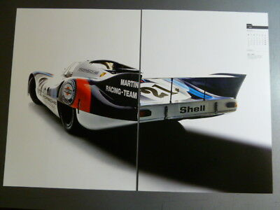 Porsche 917 Martini  Coupe Showroom Advertising Poster Print RARE Awesome L@@K