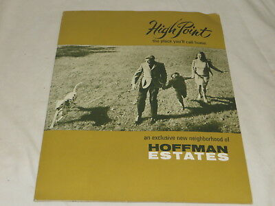 Vintage Souvenir High Point Hoffman Estates Il. Home Brochure