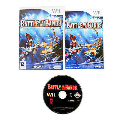 Battle Of The Bands For Nintendo Wii / Wii U - Complete - PAL