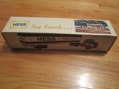 1975 Hess Barrel Truck Complete With Box, Battery Card And Barrels--Excellent