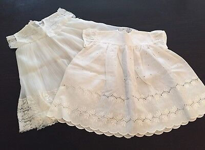 Vintage ~ 1960s Baby Girl Dress x 2