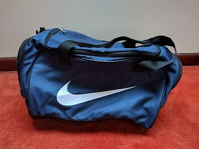 Nike Holdall Duffle Bag Blue Day/Weekend/Gym/Travel Bag Medium Club Team