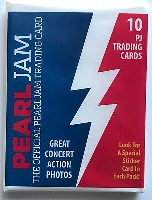 Pearl Jam baseball card pack wrigley field chicago cubs 2018 tour new