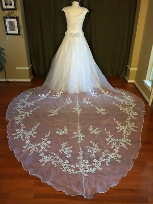 used wedding dress size 8