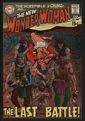 Wonder Woman #184  Glossy Cents Copy White Pages Great Warrior Cover!