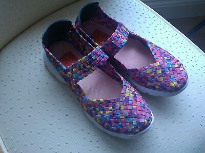 Lunar Active Mary Jane Shoes - Stretchy Size 3